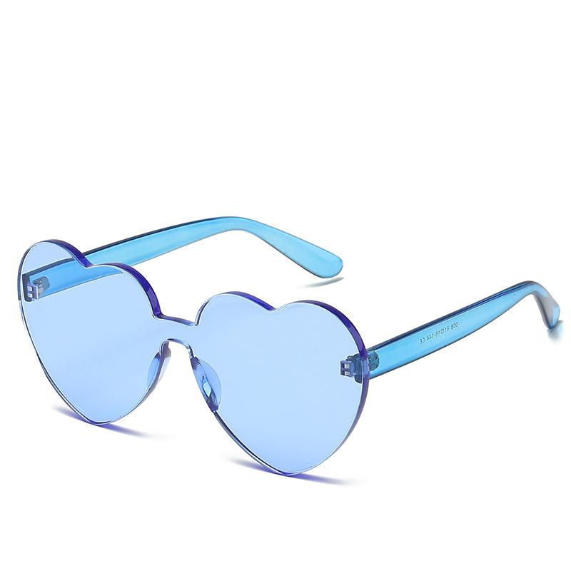 33c15451c472 2018 New Trendy Peach Sweet Candy Frameless Sunglasses Factory Men And  Womens Dazzling Color Pure Sunglasses Sunglasses Uk Polarised Sunglasses  From ...
