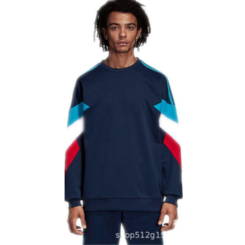 68e4d2d47 Brand Designer Mens Sweatshirts Ribbed Long Sleeve Brand Pullover ...