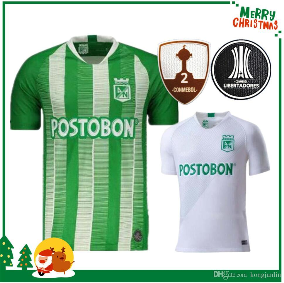 ae3a1f2d6 2019 19 20 Atletico Nacional Medellin H.BARCOS Soccer Jersey Club Medellin  2019 2020 Home Football Short Sleeve Sports Brazil Football Shirt From  Kongjunlin ...