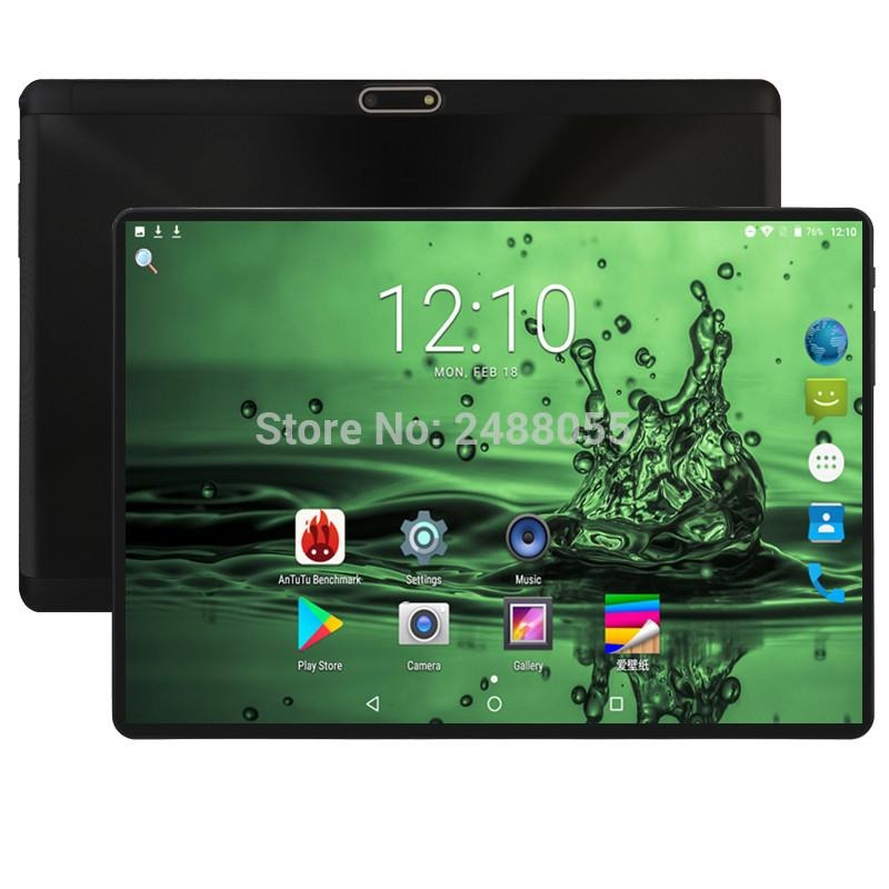 2019 Android 8.0 10 inch Octa Core tablet 3G 4G LTE Phone Call Tablet 4GB 64GB Dual SIM 5.0MP Bluetooth Wifi GPS Tablets 10 Pad