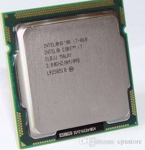 Intel Core i7 860 SLBJJ Quad Core CPU 2.80GHz 8MB Sockel 1156 95W Processor