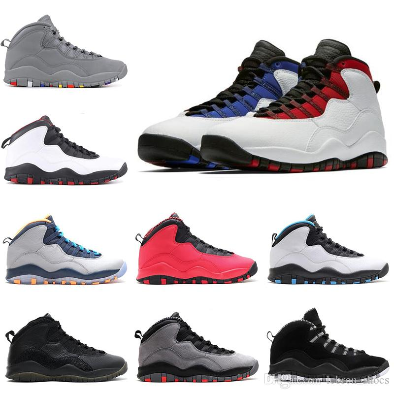 premium selection d8102 3ba50 Großhandel Nike Air Jordan 10 10s 10 Die Basketballschuhe Der Männer ...