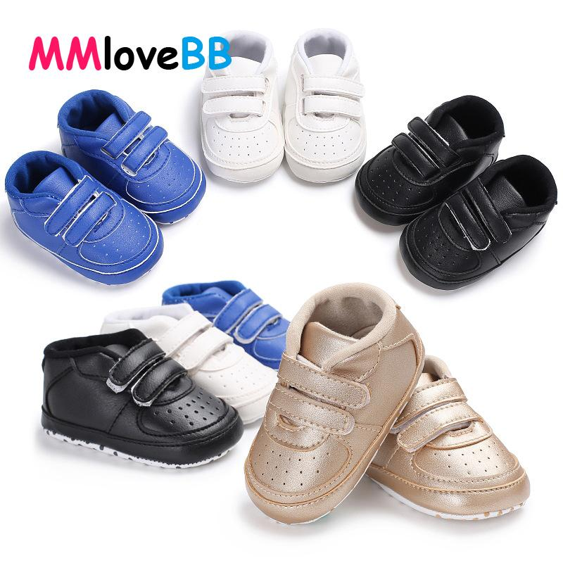 MMloveBB New Fashion Baby Moccasins PU Leather Toddler Shoes First Walker Soft Baby Girls Shoes Newborn Boys Sneakers For 0-18M