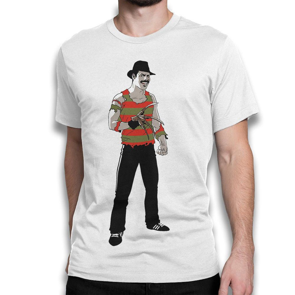 bcc2f999a879 Freddie Mercury Funny T-shirt, Freddy Krueger Tee, Men's Women's All Sizes  Men Women Unisex Fashion tshirt Free Shipping