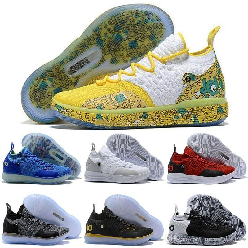 watch 1c61a ab9ac Cheap KD 11 EP Elite Basketball Shoes KD 11s Men Multicolor Peach Jam Mens  Doernbecher Trainers Kevin Durant 10 EYBL All Star BHM Sneakers Basketball  Shoes ...