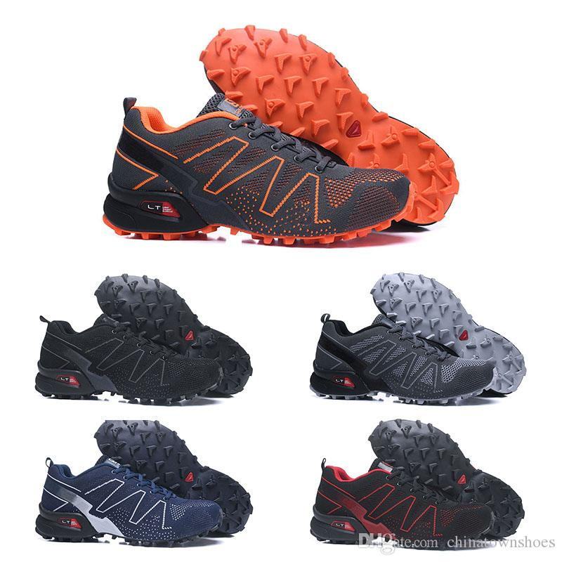 ffdf75f9 2018 Salomon Speedcross 3.5 Trail Best Quality Men Hiking Shoes High  Quality Fashion Sport Sneakers Comfortable Foot Feel Jogging Shoes40-46