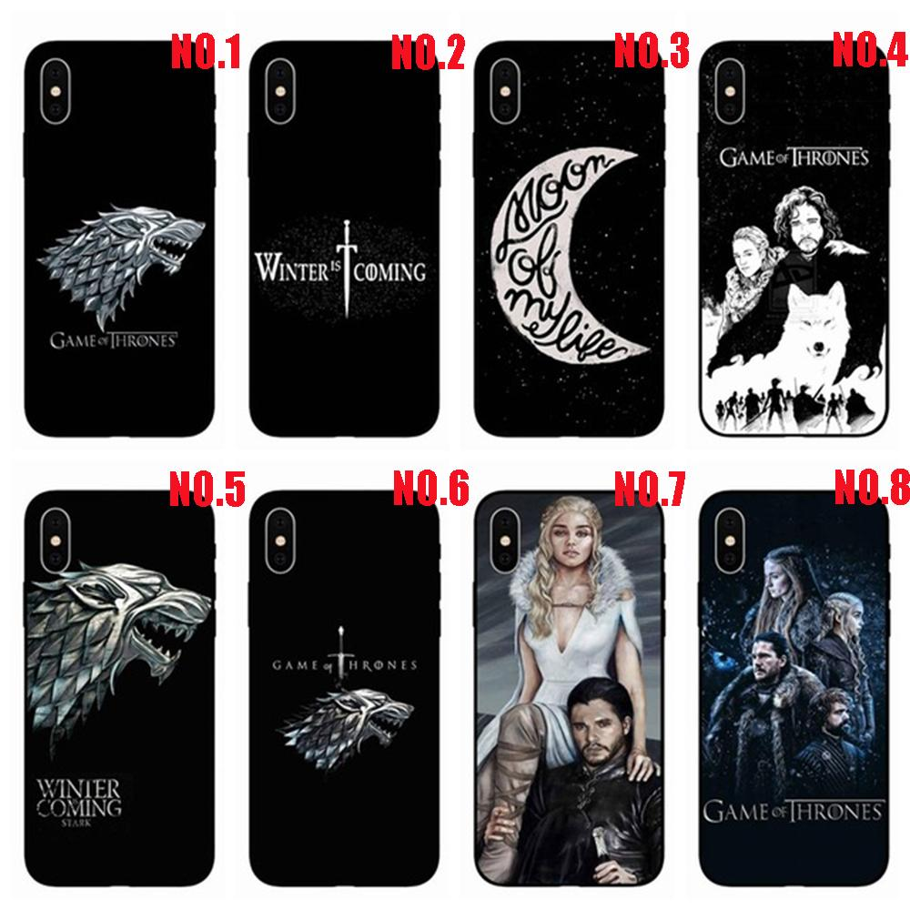 Game of Thrones for iPhone 7 7plus Case,Designs Game of Thrones Samsung Note 8/Huawei P20 Lite Hard Plastics Phone Protective Case