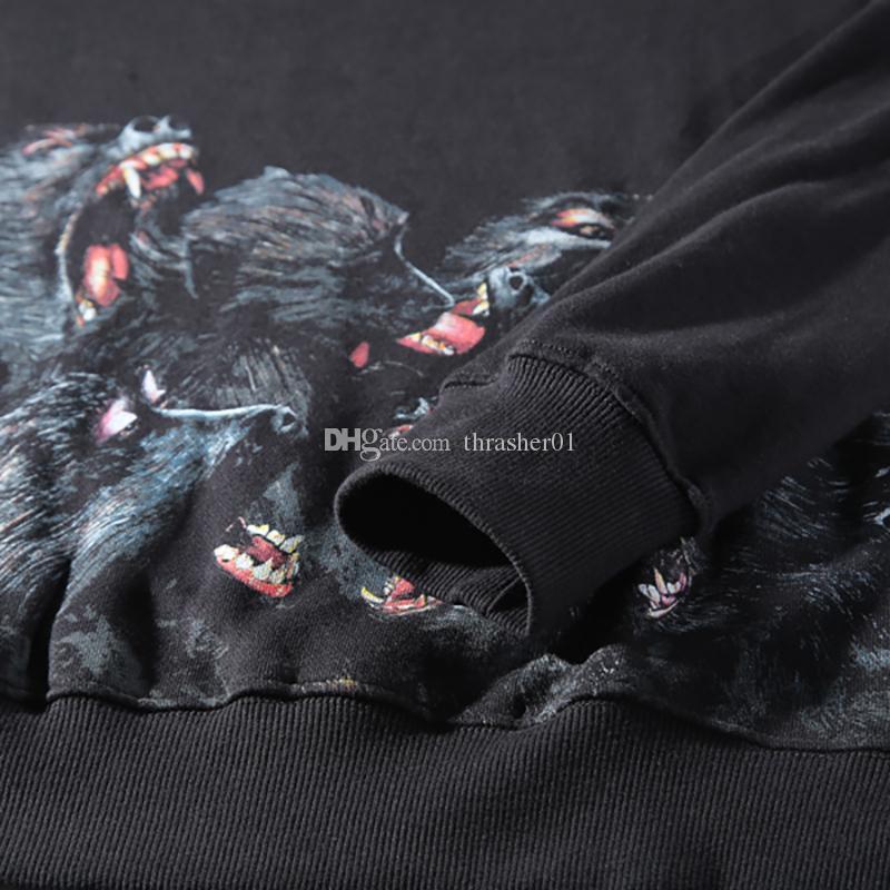 19ss Felpe con cappuccio da uomo famose Designer Moda Uomo Donna Giacca casual Coppie Felpe con cappuccio autunno sciolto Felpa con stampa scimmia arrabbiata