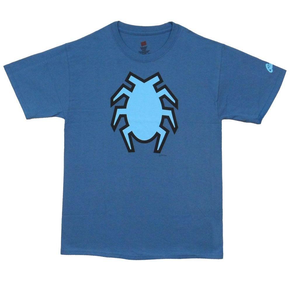 8d69bacd6c17f Acheter Blue Beetle Symbole DC Comics Sous Licence Adulte T Shirt De Bande  Dessinée Hommes Unisexe Nouveau Mode T Shirt De  10.66 Du  Designtshirts201805 ...