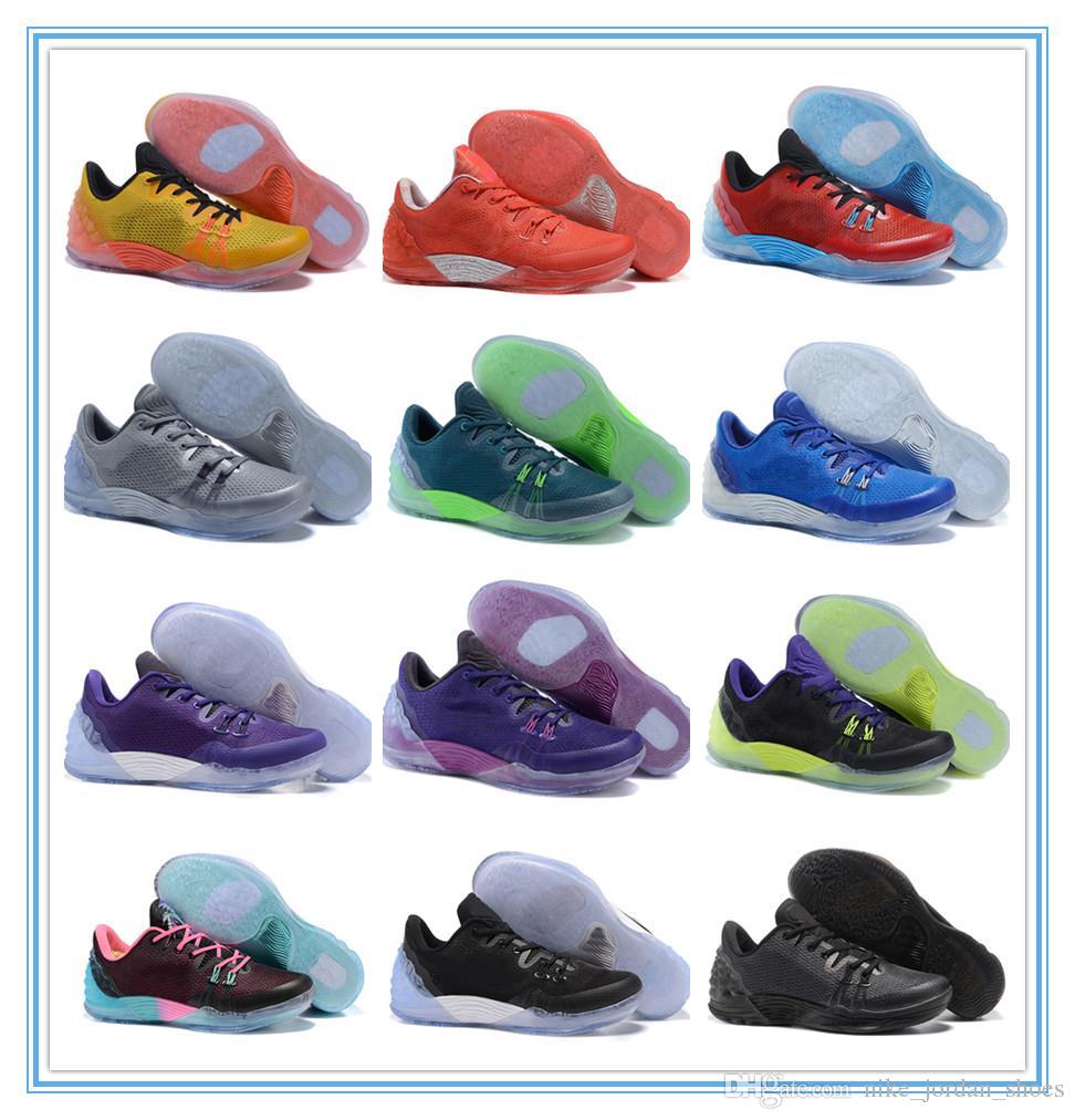 bffb26b4df 2019 Kobe Venomenon 5 Joker Lob City South Beach University Gold Lakers  Court Purple Men Sports Shoes Venom KB 5 EP Mens Designer Sneaker From ...