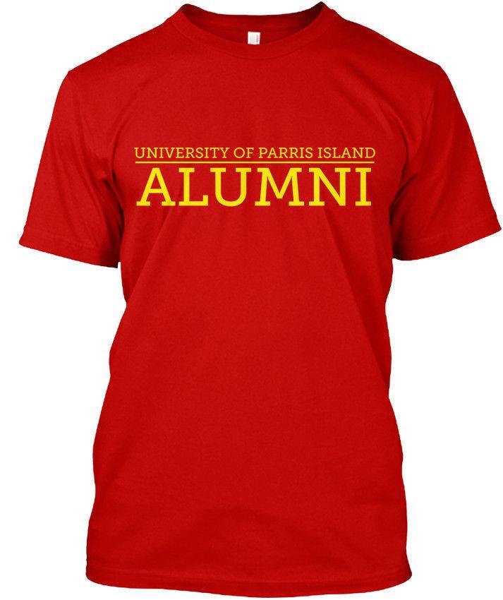 20f074e0f6f97 Mens Designer T Shirts Shirt University Of Pi L S  Amp S S Parris Island  Alumni Premium Tee T Shirt T Shirt Printing Shirts From Wear6