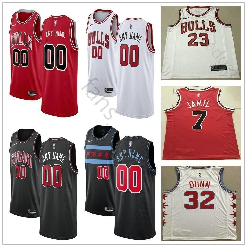 hot sale online 0b9fa 7eaed Printed Chicago 42 Robin Lopez Asik 6 Cristiano Felicio 7 Justin Holiday 22  Cameron Payne 5 Bobby Portis 15 Chandler Hutchison Bulls Jersey