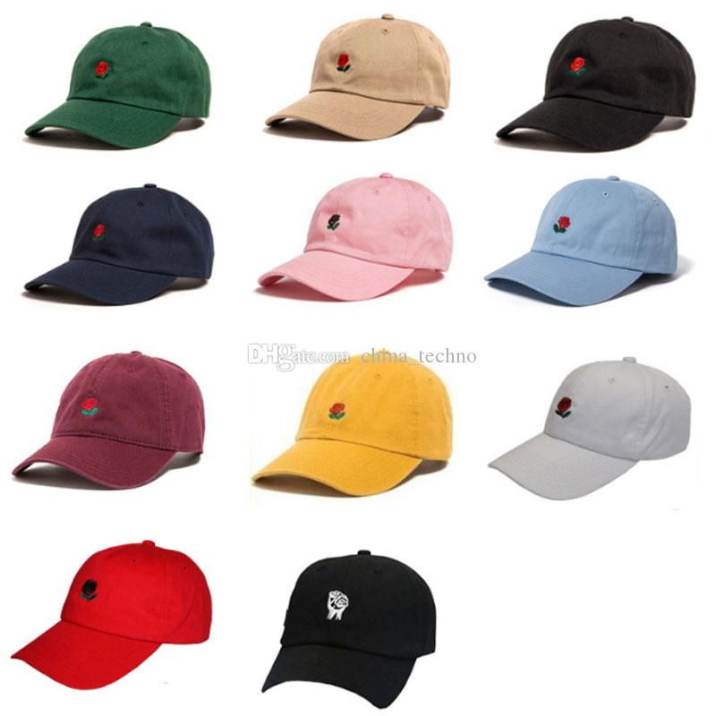 186a4cfd4ad 2019 Unisex The Hundreds Rose Snapbacks Caps Adjustable Golf Baseball  Snapback Cap Hats Men Women Casquette Hats DHL From China techno