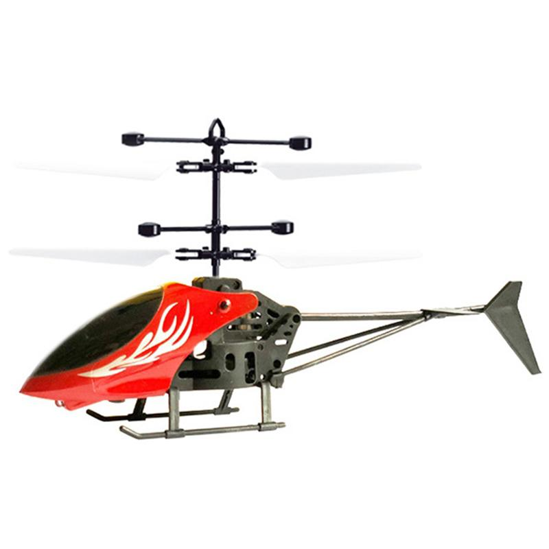 Pc396 Remote Control Drop-resistant Induction Aircraf Helicopter Remote  Control RC Drone Toys For Children