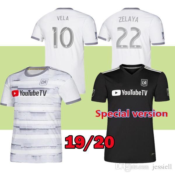 cb540dad9 19 20 La Los Angeles Fc LAFC X Parley Soccer Jerseys 2019 2020 ...