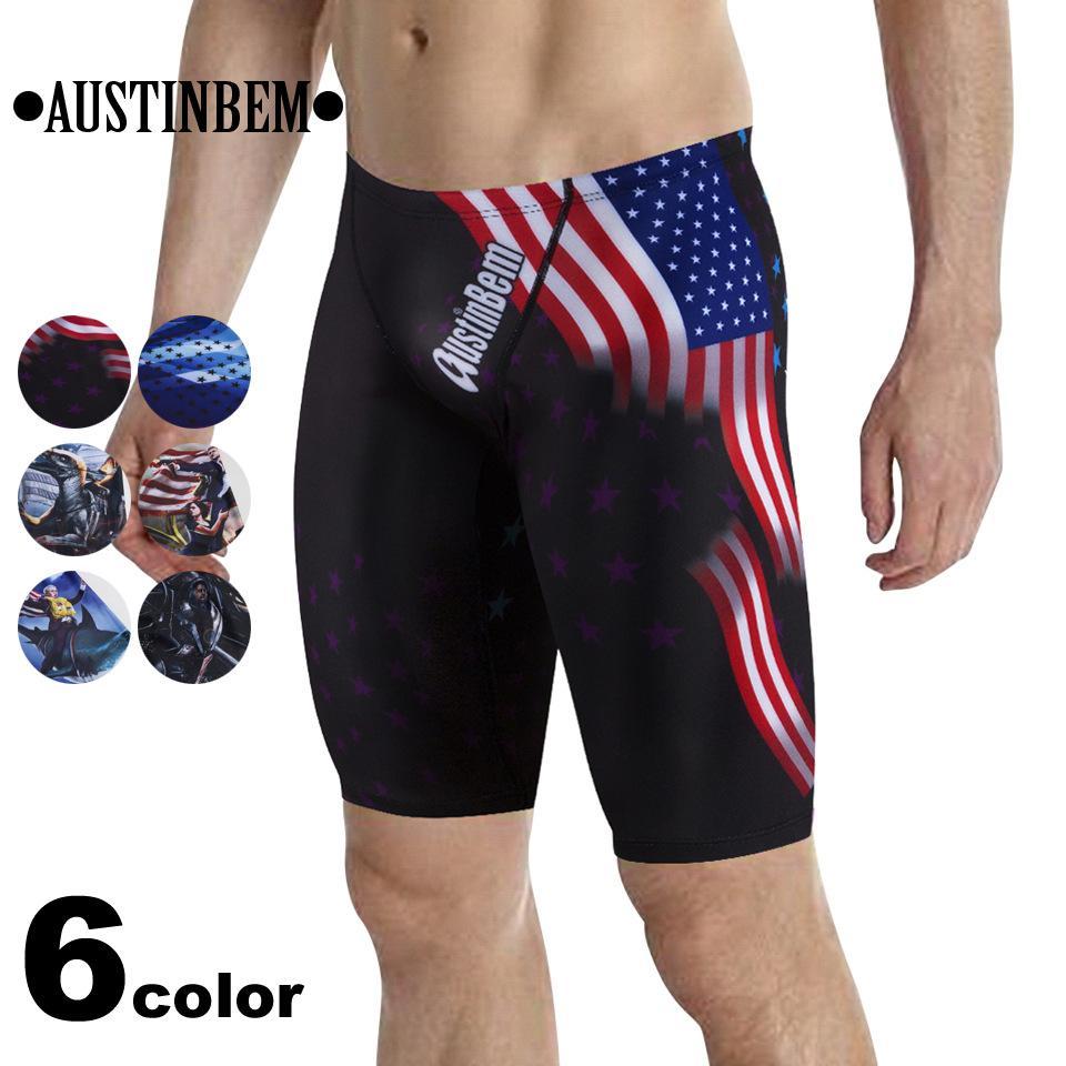 58947d70 Mens Swimwear Summer Fashion Beach Designer Swim Shorts Brand American  Series Five-Point Swim Trunks Six Styles Size S-L