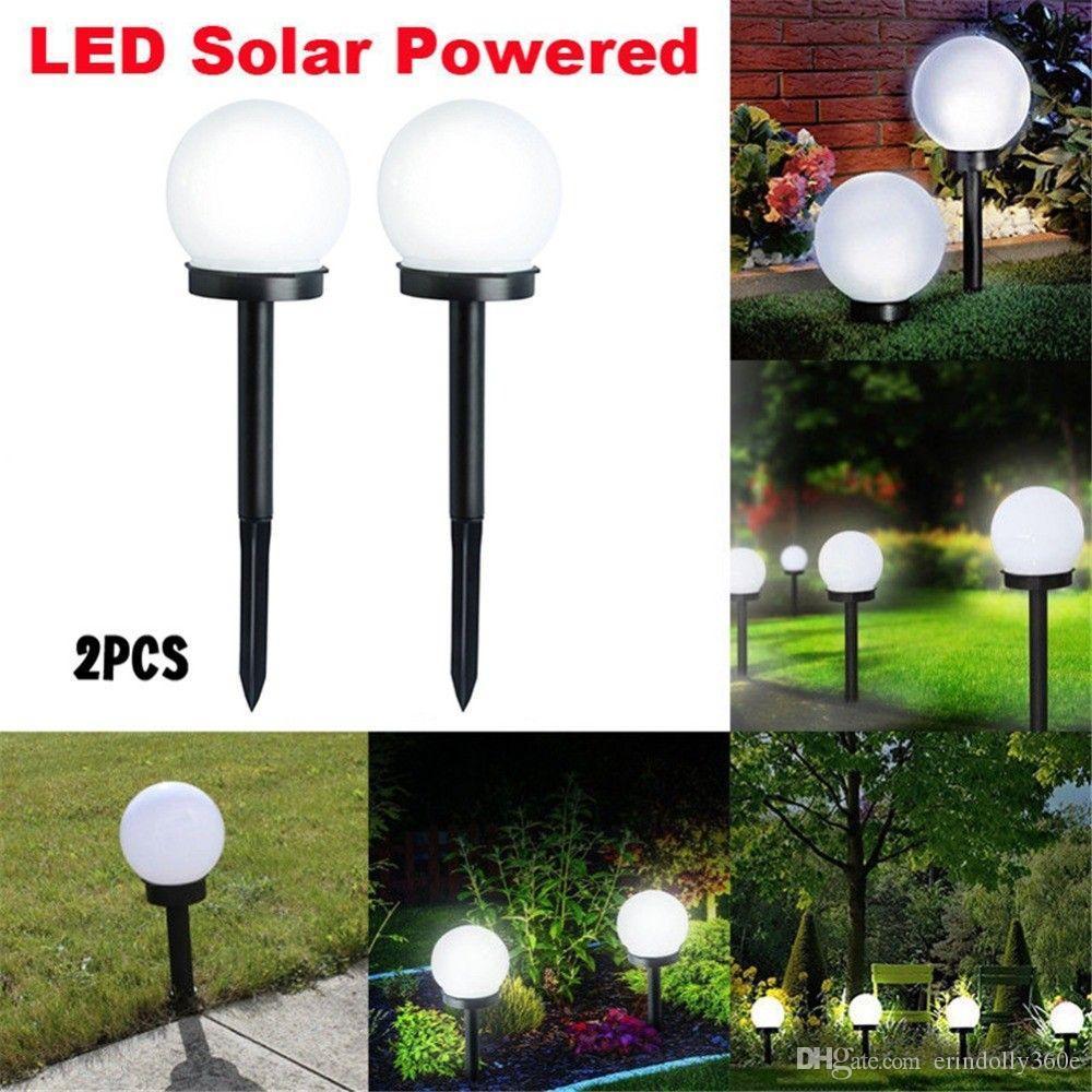 1.2V DC étanche LED énergie solaire jardin extérieur sentier lumière cour  pelouse route Spot lampe décoration éclairage lampe