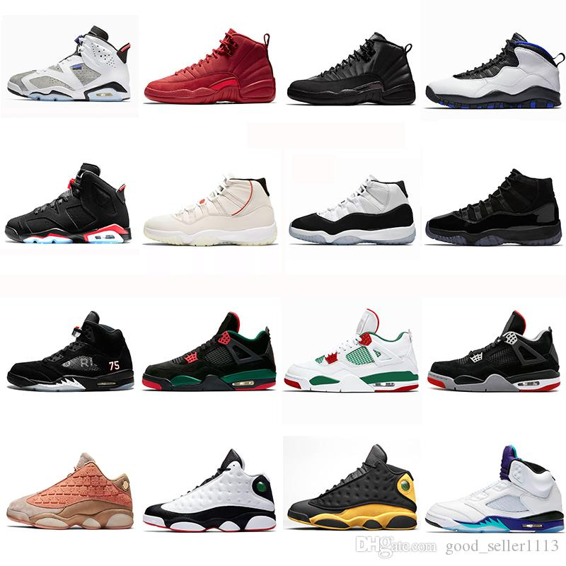 finest selection 5f4a7 067ac 2019 11s Concord 13s Terracotta Blush 12s Winterized 6s Flint Men  Basketball Shoes 10s Orlando 5s Fresh Prince 4s Pizzeria sports sneakers