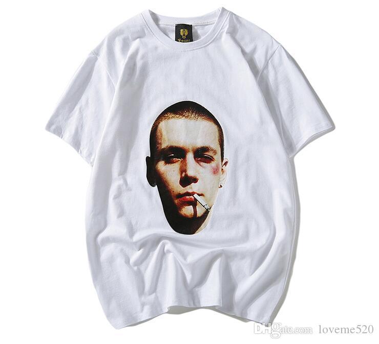8b73c7161f9d 2019 Brand Fashion Luxurys Designers Paris Fan Made T Shirt Justin Bieber  100% Cotton T Shirts Streetwear Punk Rock Star Ghost Tee Tshirt Printable T  Shirts ...