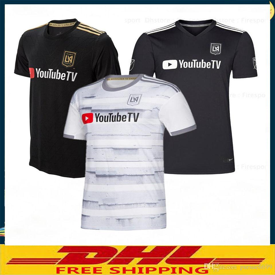 b9ab3b32992 2019 DHL 2018 2019 Home Away LAFC Soccer Jerseys 19/20 Size S XXL Los  Angeles Fc Size Can Be Mixed Batch From Pursue6699, $13.71   DHgate.Com