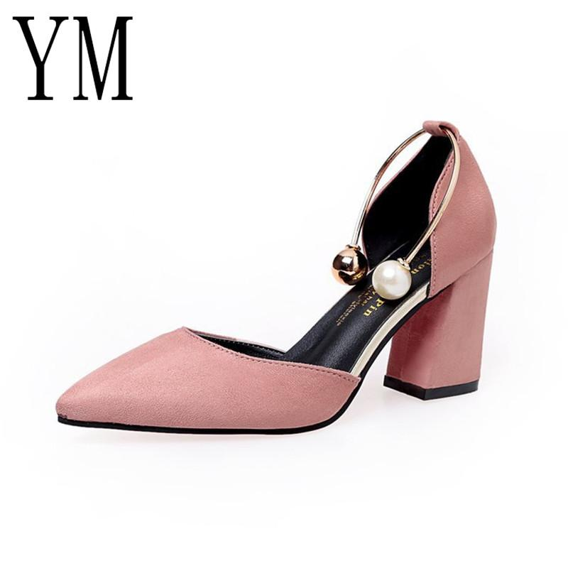 d742006da Designer Dress Shoes Summer Women Side With Pointed Toe Pumps Dress Pearl High  Heels Boat Wedding Tenis Feminino Sandals HOT Loafers For Men Red Shoes  From ...