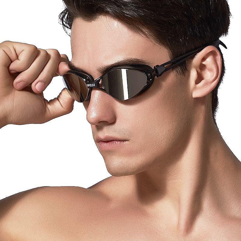 ea385754a35b Copozz New Professional Anti-Fog UV Protection Adjustable Swimming Goggles  Men Women Waterproof Silicone Glasses Adult Eyewear Copozz Swimminggoggle  ...