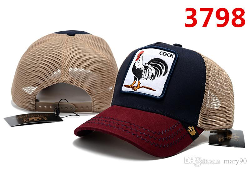 d2a3f609d 2019 new pet animals custom baseball cap with hip-hop street fashion  personality high quality fashion style animal rooster hat dropshipping