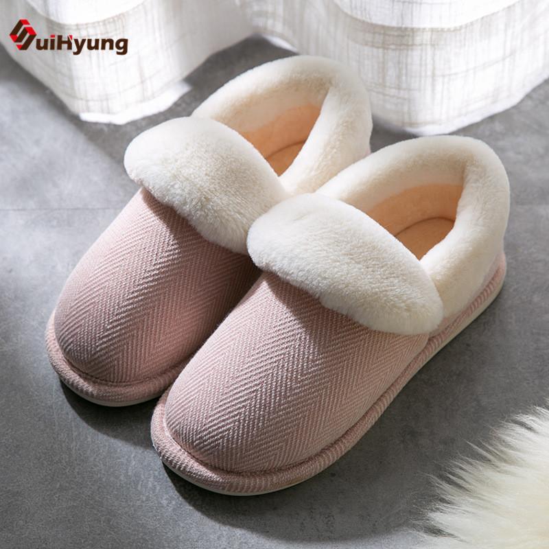 Zapatos Invierno Gruesa Algodón De Las Compre Suihyung Mujeres g0FWvpqpXn