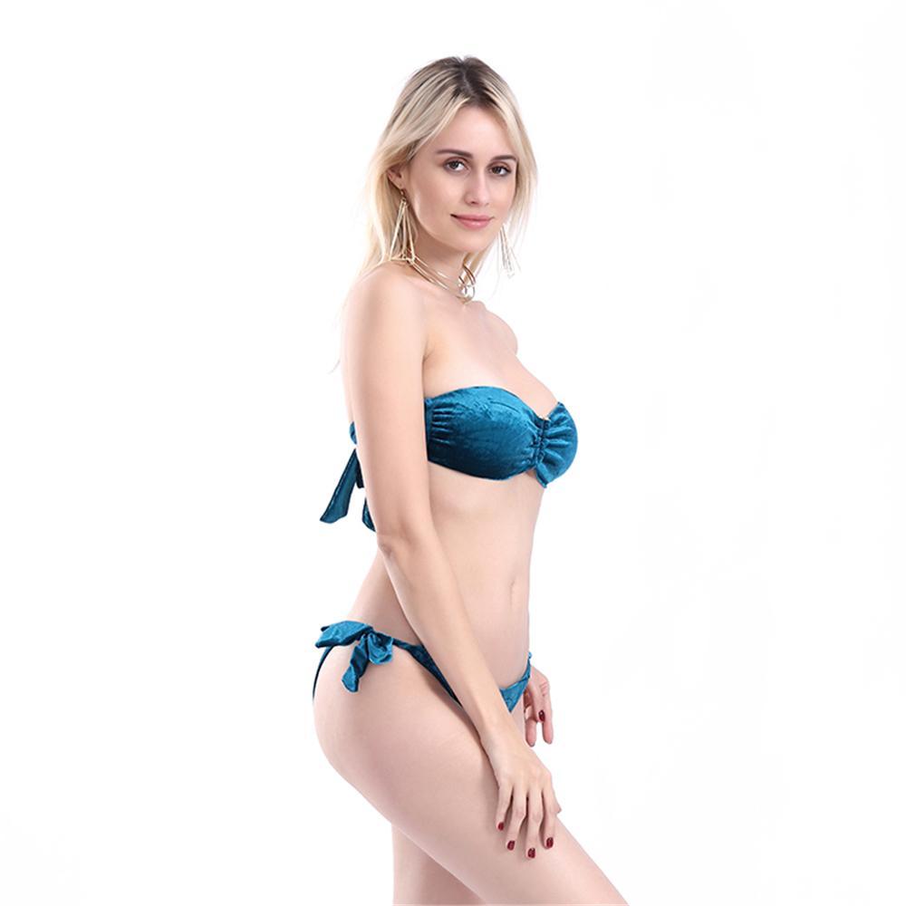 cad40875a Compre Atacado Mais Novo Verão Sexy Biquíni Mulheres Swimwear ...