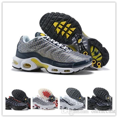 pas mal 1e6f1 732ec nike air max Original para hombre Tn se zapatos de diseño Zapatillas  chaussure homme Mercurial Tn Plus zapatillas Airs Cushion hombre deporte ...