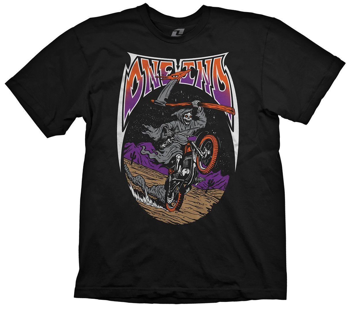 b8248ebc ONE INDUSTRIES MENS T SHIRT FEAR THE REAPER TEE BLACK Adult Motocross Mx  Bike T Shirt Printing Custom Printed Tshirt, 2019 Fashion T Shirt 24 Hour  Tee ...