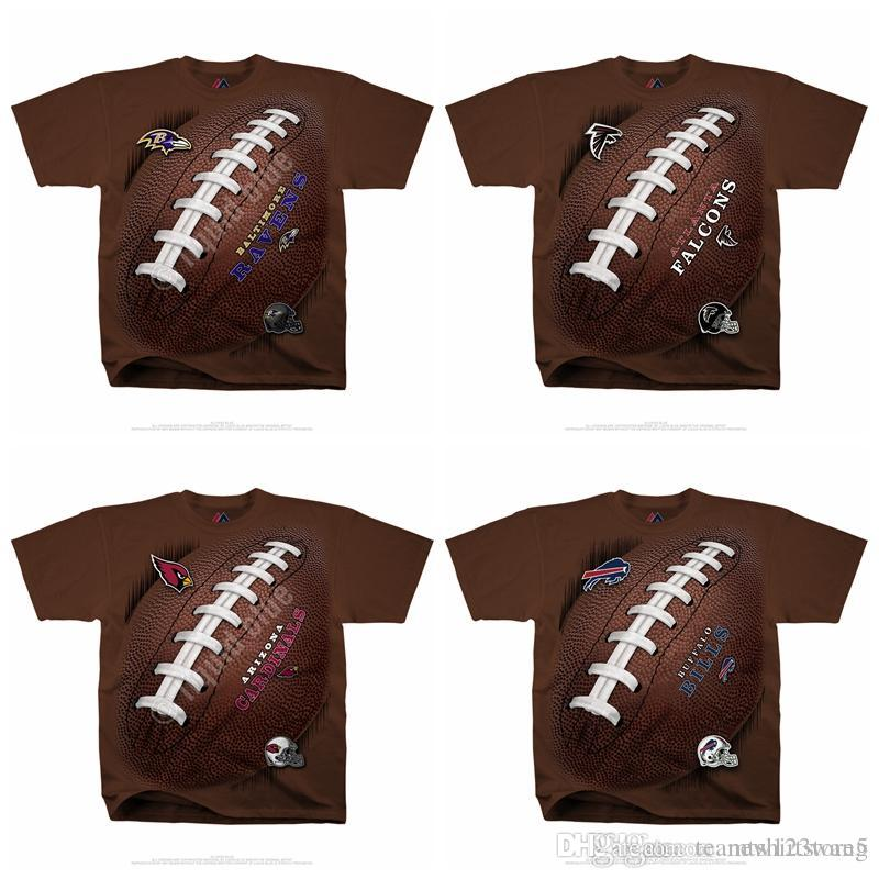 Men s T-Shirt Buffalo Bills Baltimore Ravens Atlanta Falcons ... b2c4e6c5e