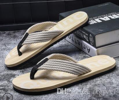 649d5ef412d5 Slippers Men S Summer Korean Version Of The Trend Of Non Slip Feet ...