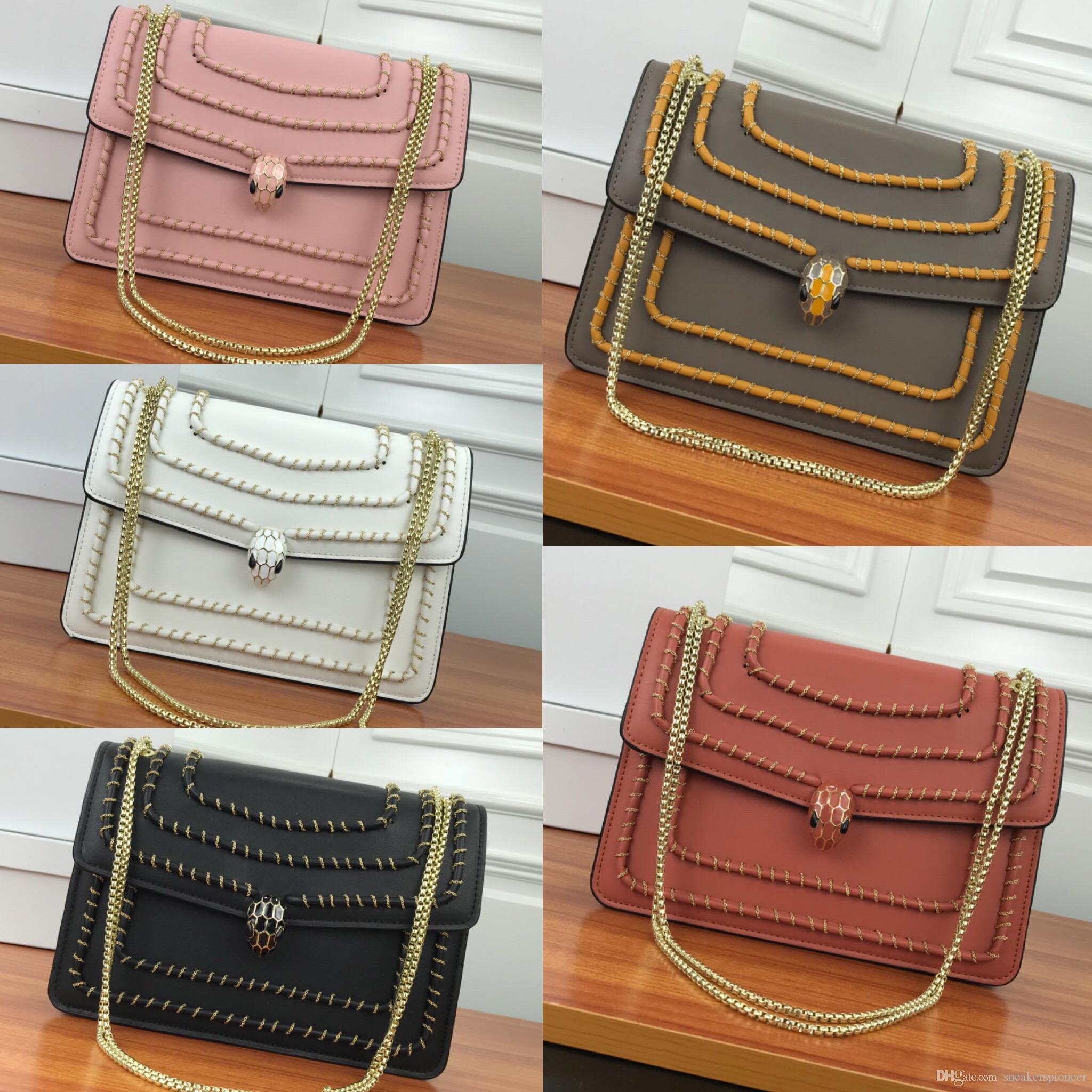 b8cc6b44 Women Designer Genuine Full Grain Leather Satchel baguette flap Cross-body  pouch Clutch Shoulder bag Fashion Handbag Casual High Quality