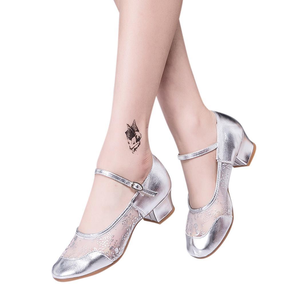 815a7a6556 Compre Zapatos De Vestir De Diseñador Chicas Latinas Salsa Baile Suave  Suela Mujeres / Damas Salón De Baile Tango Fiesta Baile De Tacón Alto A  $25.17 Del ...