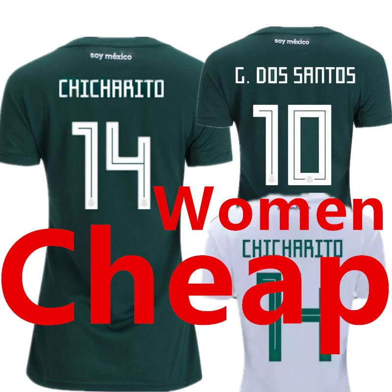 16aee151d 2019 Mexico Women Soccer Jersey Ladies World Cup 2018 2019 Female Away White  Girls Home Green Camisetas Futbol Mujer Camisa Mulher Football Shirt From  ...