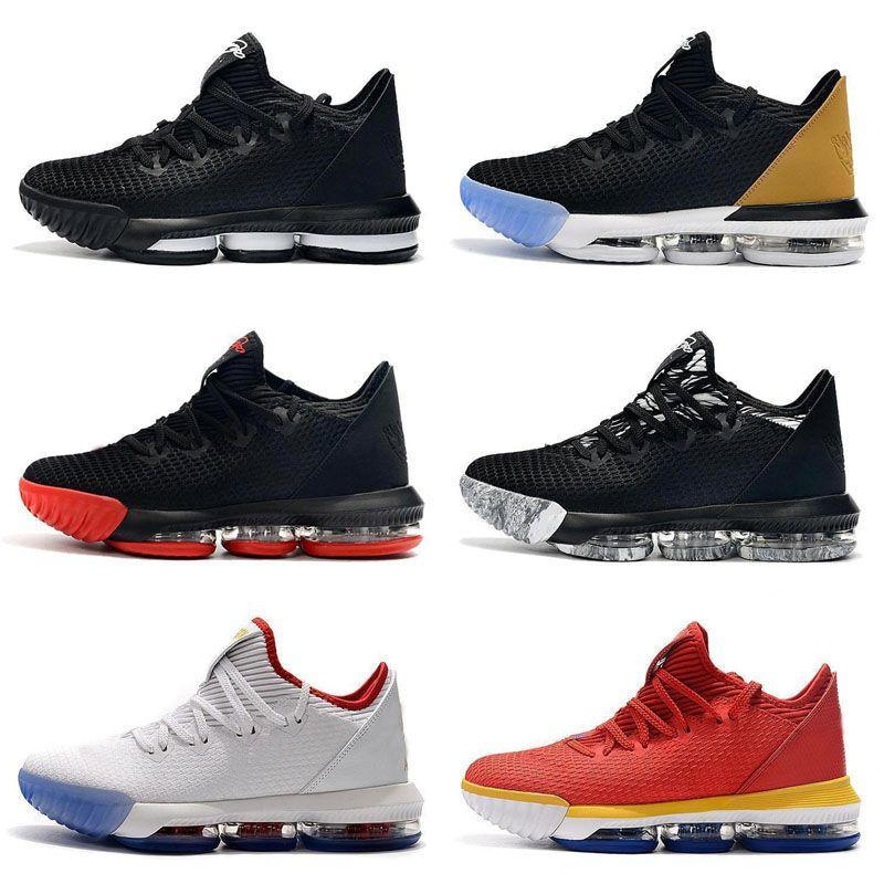 2019 Nueva versión Lebron 16 XVI Equality King Court Purple I Promise Zapatillas de baloncesto Niños King Fresh Bred 1 Thru 5 Oreo What