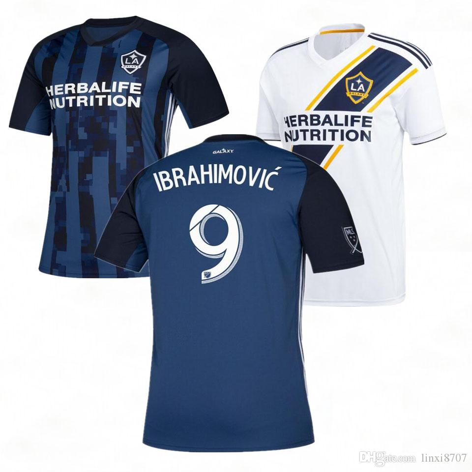 19 20 Los Angeles Galaxy Away CUSTOMIZE 2019 2020 Soccer Jersey J ... 75acd6896