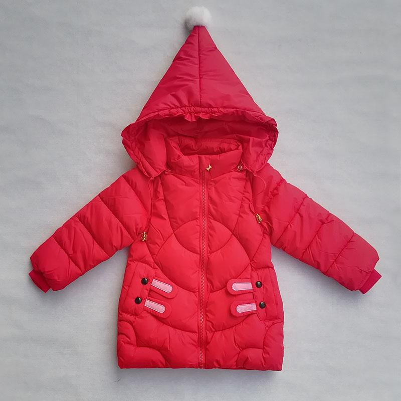 9afa16e82 Baby Girls Coats Winter Jacket New Cute Clothing Children Hooded Jacket Kids  Warm Thicken Outerwear Cartoon Jackets For Girl Teenage Girl Winter Coats  ...