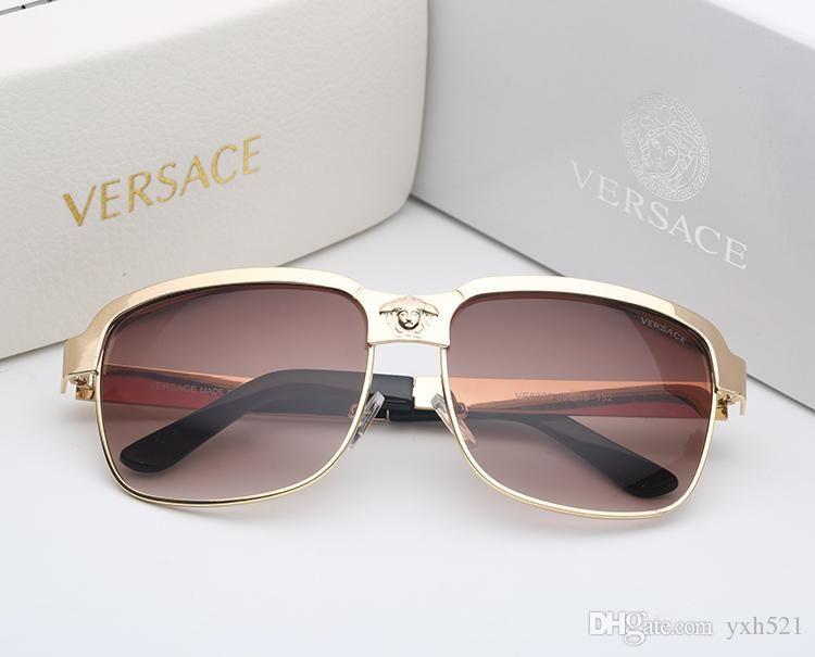 8a842446e8 Fashionable Big Shop Sign Luxury Sunglass Big Frame Plank Polarized Light Glasses  Lady Round Face Show Thin Drive Fashionable Sunglasses 009 Sunglasses ...