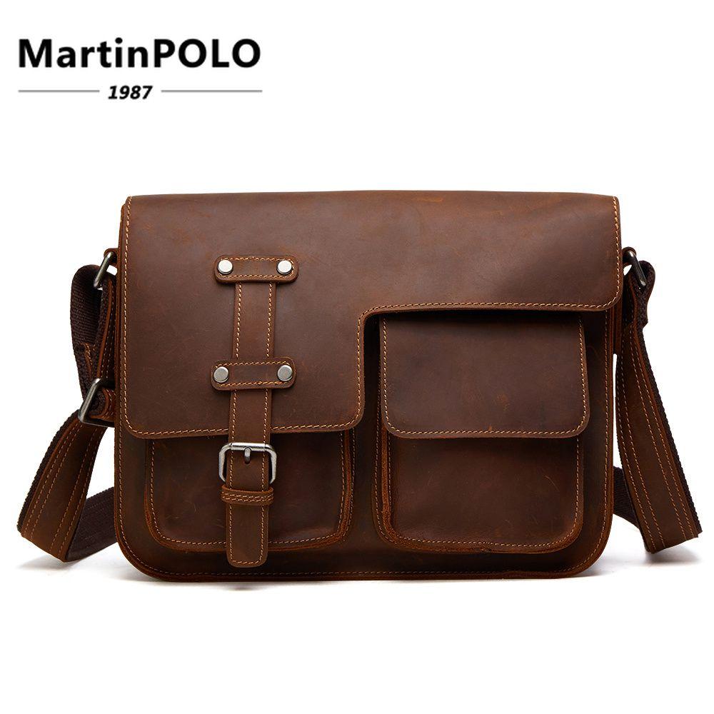 1db4fc5f6e Brand Fashion Men Bags Vintage Men S Leather Briefcase Genuine Cowhide  Leather CrossBody Handbag Messenger Bag Men Shoulder 6302 Tote Handbags  Relic Purses ...