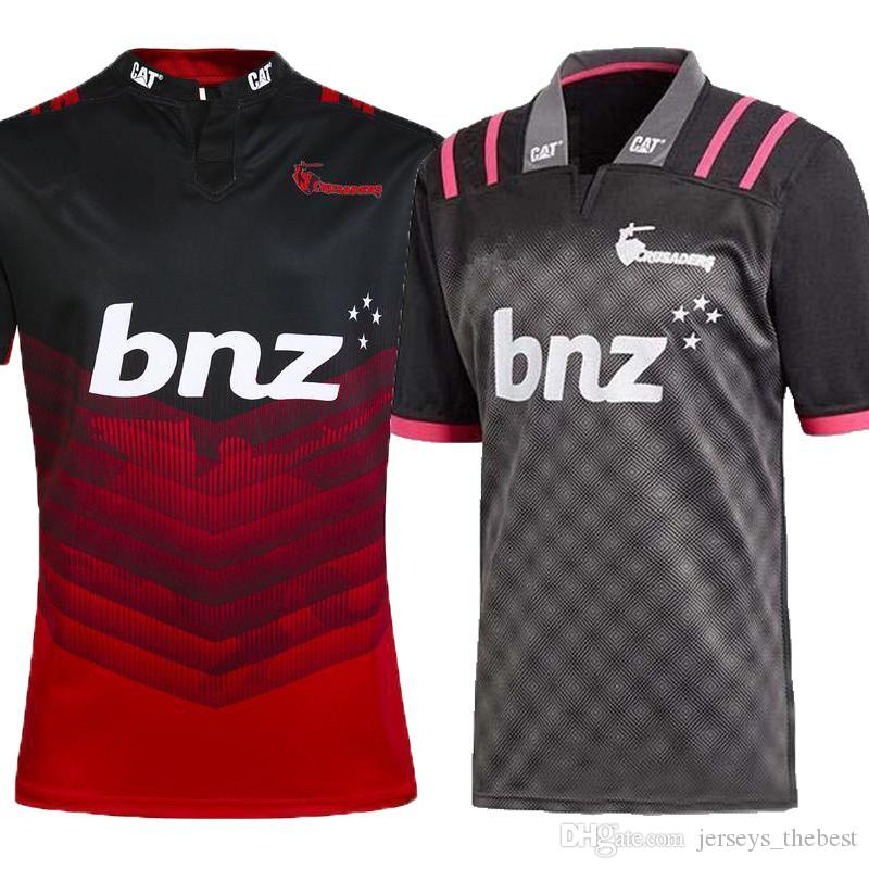 f36286c2210 2019 AAA+2018 CRUSADERS Super Rugby Training Jersey New Zealand Super Rugby  Union Crusaders High Temperature Jersey Shirts Size S M L XL XXL 3XL From  ...