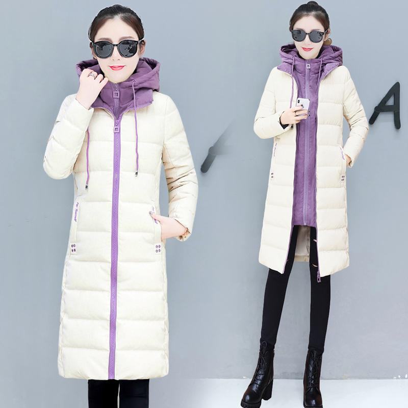 e515f4afb0 2019 YICIYA Long Coats Women Plus Size Hooded Wool Coat Winter Wear 2019  Womenjackets Whiter Thick Warm Clothing Jacket Outerwear From Ycqz2