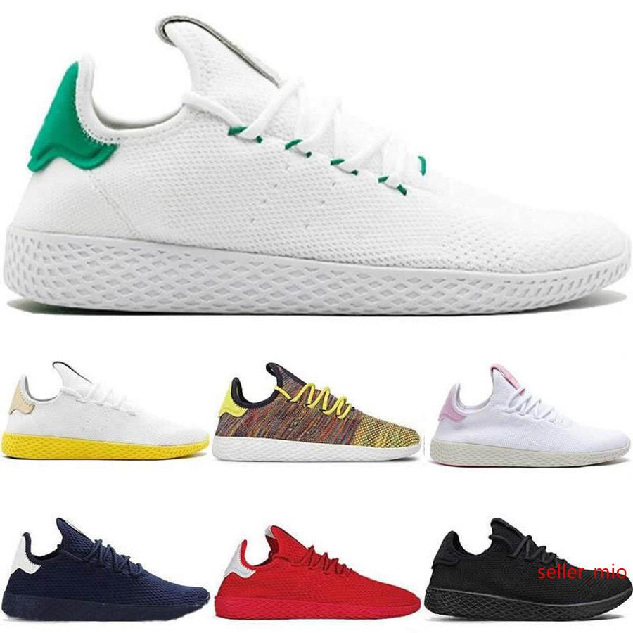 2019 New arrive Pharrell Williams x Stan Smith HU Primeknit Tennis men Shoes women Sneaker sports Shoes breathable EUR 36-45