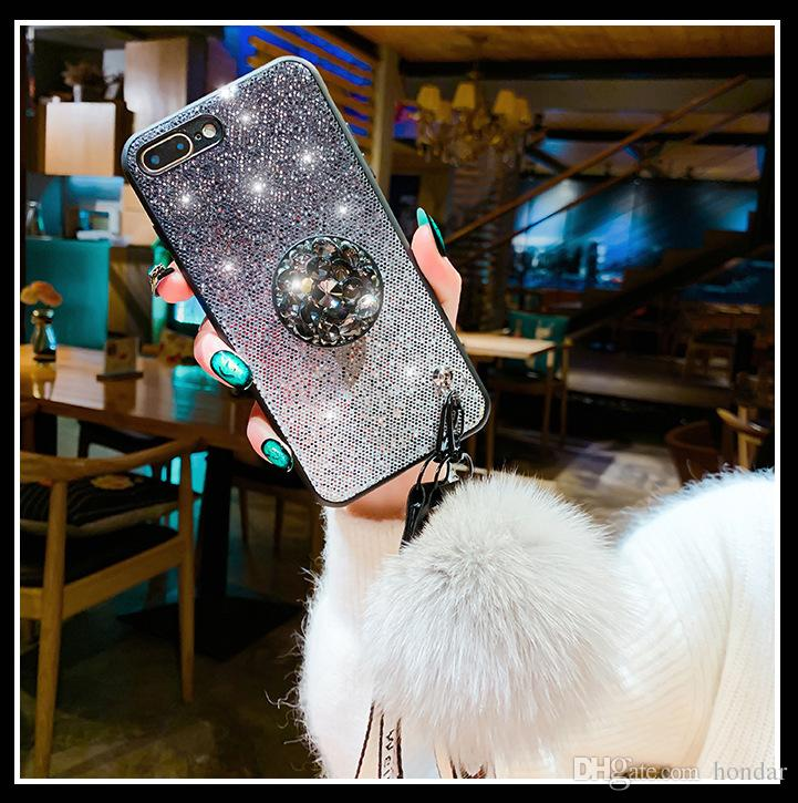 New arrivals for Iphone xs max glitter case color gradual change designer  phone case shinning power for iphone xs max case