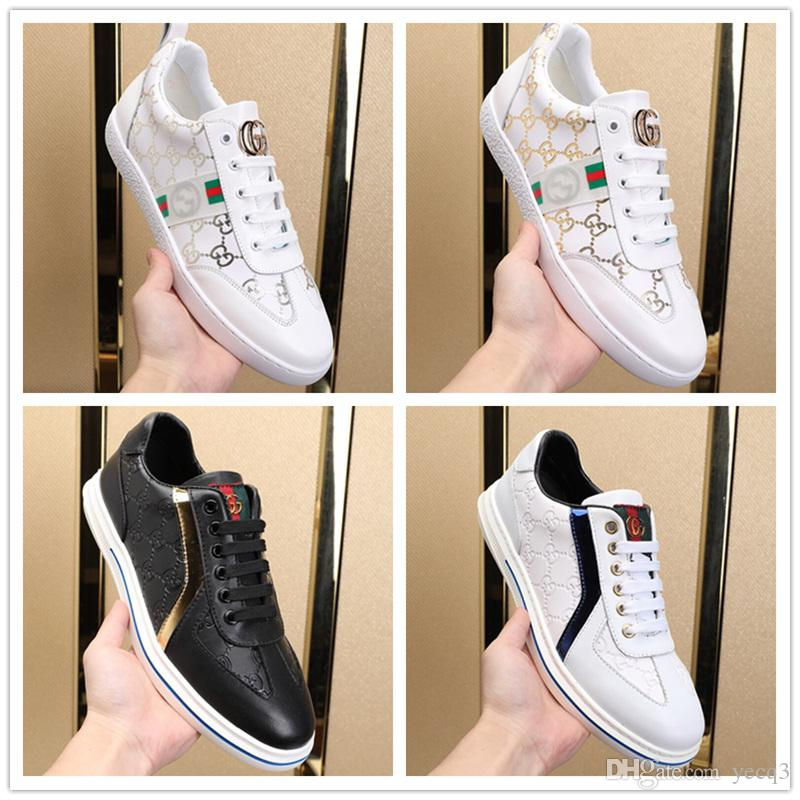 ff9fd7341de7 2019 New Style White Sneakers Men Men Breathable Leisure Shoes Korean  Version Popular Shoes Flat Bottomed Fashion Men Sneakers Women Shoes Mens  Sandals From ...