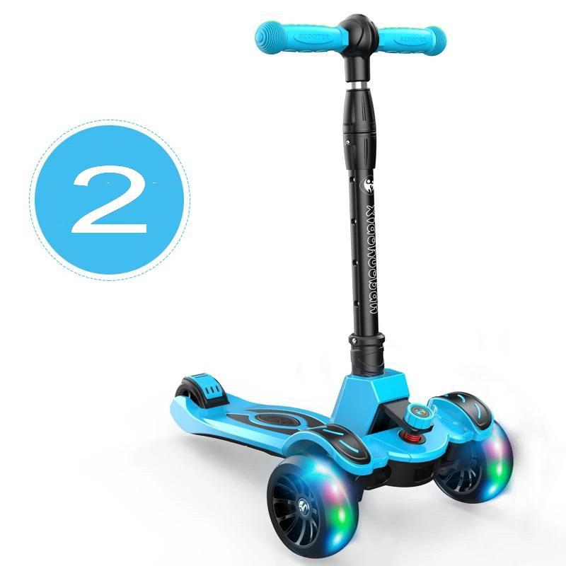 Elektro-scooter Rollschuhe, Skateboards Und Roller 2 Rad Roller Für Erwachsene Kinder Folding Tragbare Mini Fahrrad Erwachsene Tretroller Höhe Einstellbar Roller Professionelles Design