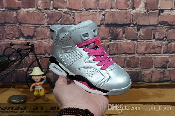 Nike Air Jordan 6 Curry 4 All-Star kids shoes envío gratis 2018 de calidad superior Stephen Curry nuevos zapatos de baloncesto precios al por mayor tienda US4-US12