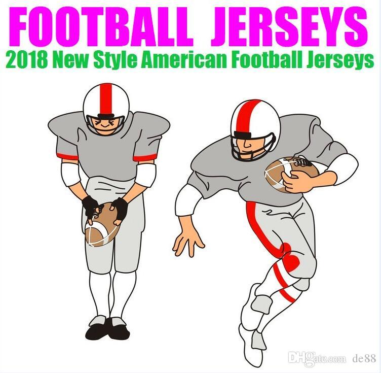 Alle genähten Custom American Football Trikots Houston New York College authentische billige Baseball Basketball Herren Damen Jugend USA 4xl Kanada
