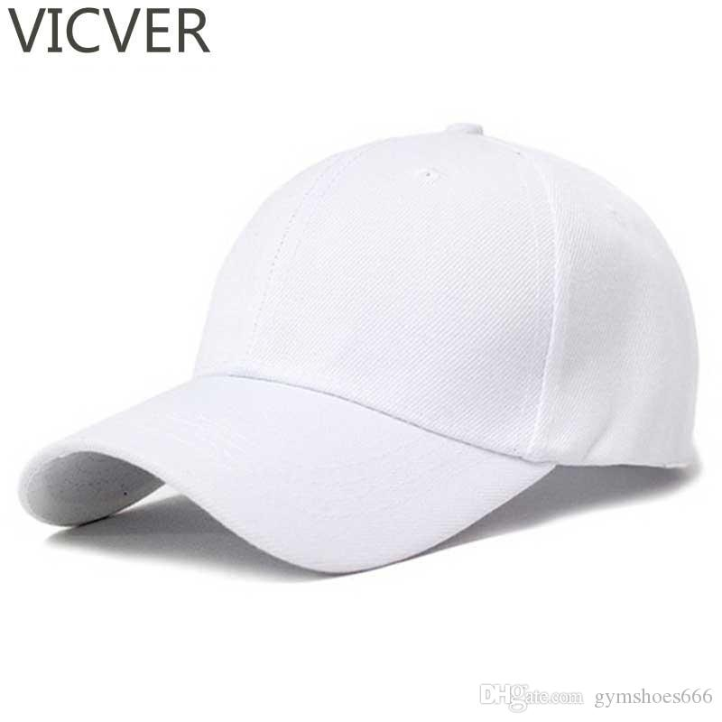 2019 Snapback Baseball Cap Plain Canvas Dad Hat Hip Hop Men White Trucker  Hats Women Summer Casual Solid Black Hats Golf Adjustable  46989 From  Gymshoes666 0636f3e4653